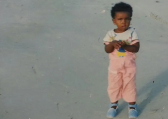 The author as a child before the Somali Civil War. Photo: Hani Garabyare