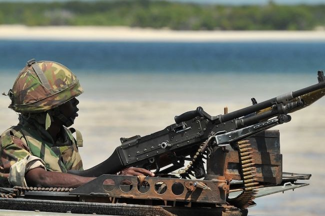 African Union's peacekeeping mission AMISOM join hands with Somali forces to regain territory from al-Shabaab